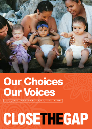 Close the Gap Report 2019 – Our Choices, Our Voices