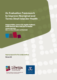 An Evaluation Framework to Improve Aboriginal and Torres Strait Islander Health