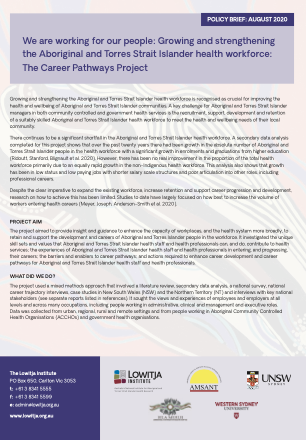 Career Pathways Policy Brief