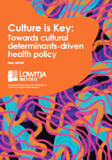Culture is Key: Towards cultural determinants-driven health policy